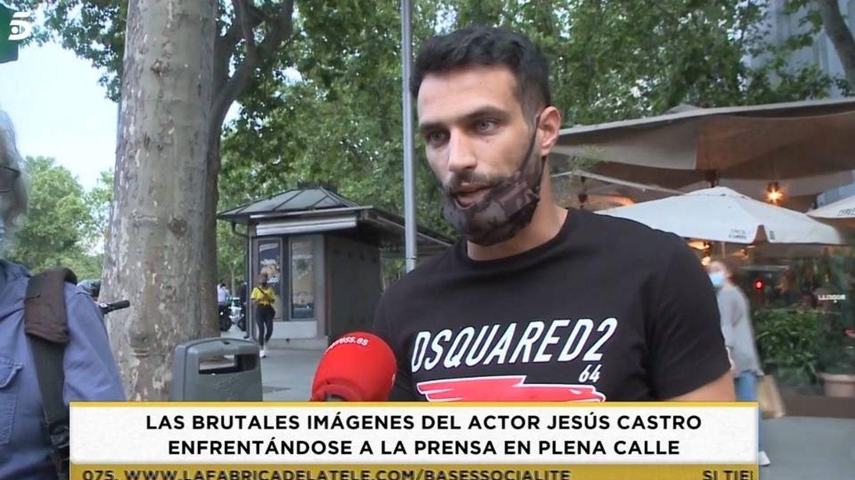 Jesús Castro pierde los papeles al ser pillado con su novia, Alba Casillas