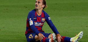Post de Más difícil para el Barça: Griezmann se pierde lo que resta de Liga por lesión