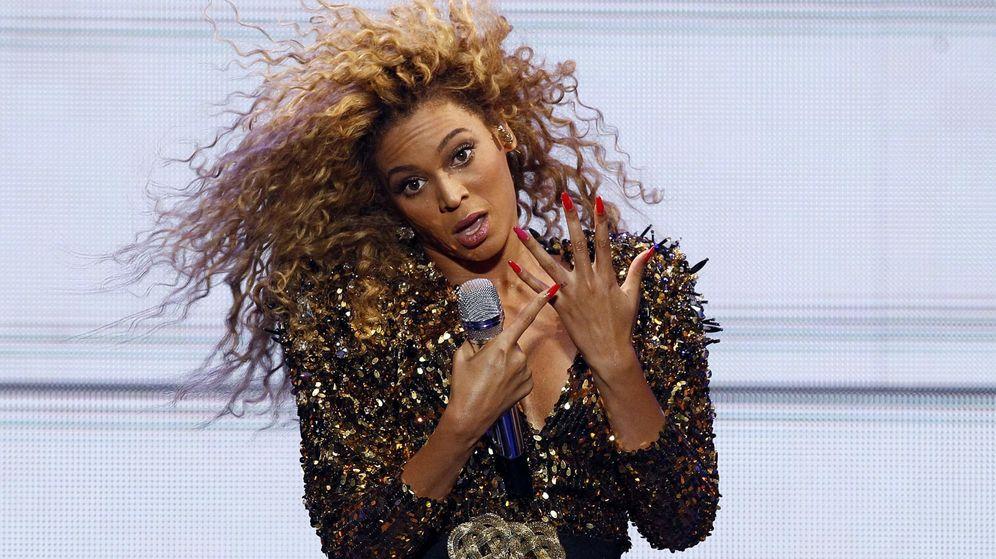 Foto: Beyoncé, en una de sus actuaciones.