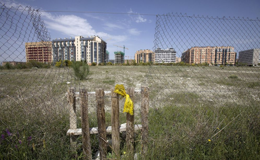 Foto: Solar sin urbanizar. (Reuters)