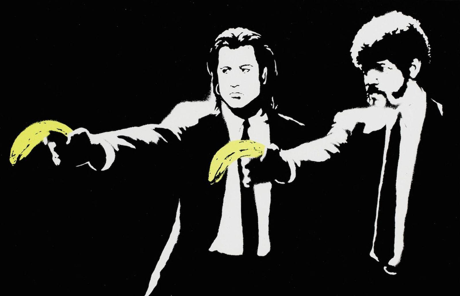 Foto: 'Pulp Fiction' según Banksy