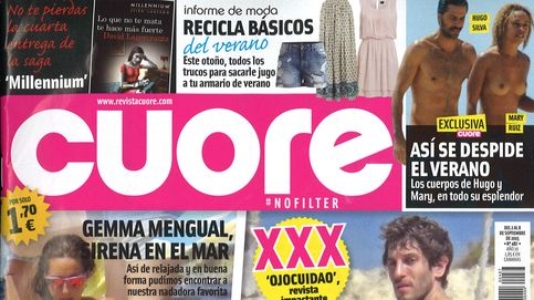 Quim Gutiérrez, 'pillado' y al desnudo