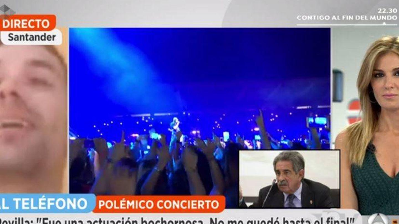 En 'Espejo público' hablan con Revilla y un fan de Enrique Iglesias.