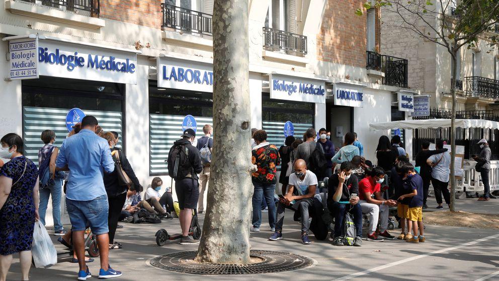 Francia reduce a siete días la cuarentena mientras aumentan los ingresos por covid