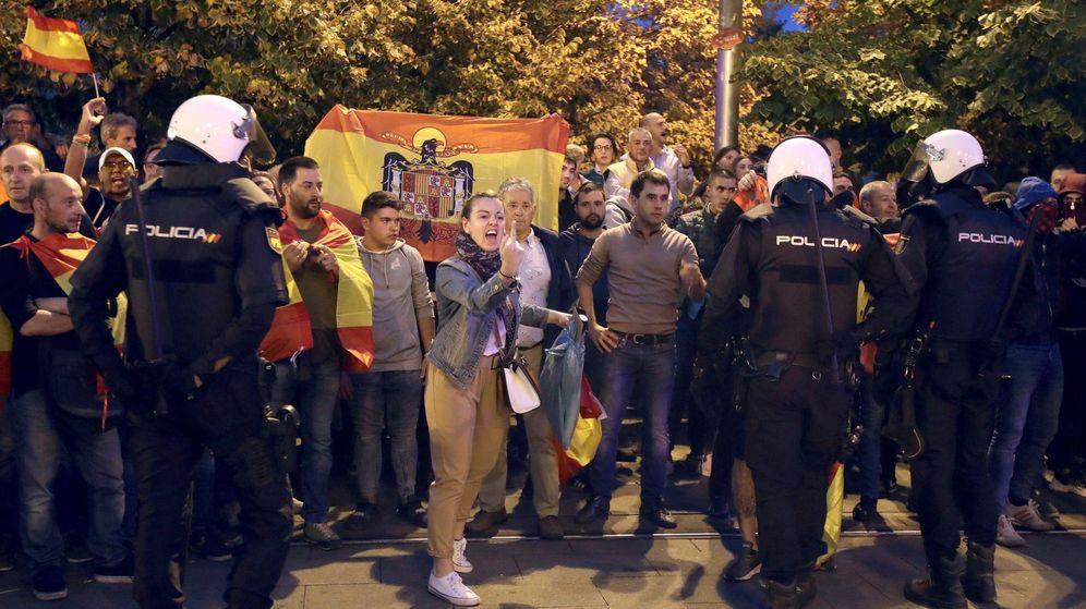 Foto: Manifestación proindependentista en Zaragoza (EFE)
