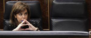 Foto: Sáenz de Santamaría calcula que la ley de administración local ahorrará 3.500 millones
