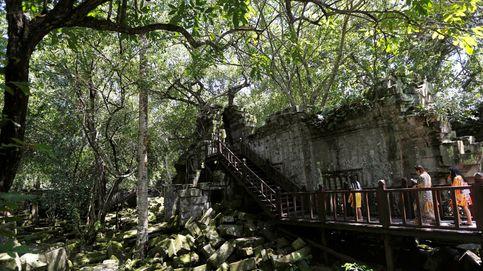 Encuentran la 'ciudad perdida' de Camboya oculta en medio de la selva