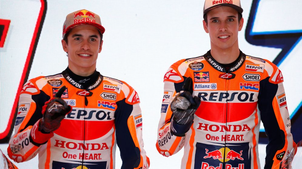 Foto: Marc Márquez y Álex Márquez compartirán equipo esta temporada en Moto GP. (Reuters)