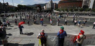 Post de El covid y las elecciones vascas ahondan en la fractura del movimiento de pensionistas