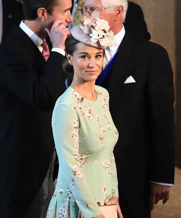 Foto: Pippa Middleton, en la boda de Harry y Meghan de Sussex. (Getty)