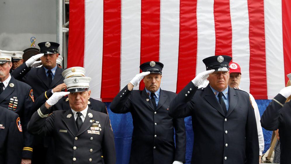 Foto: Los homenajes a las víctimas del 11 de septiembre se repiten con cada aniversario de los ataques (Reuters/Shannon Stapleton)