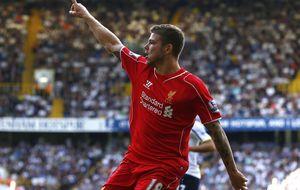 Alberto Moreno cierra el triunfo del Liverpool en su visita al Tottenham