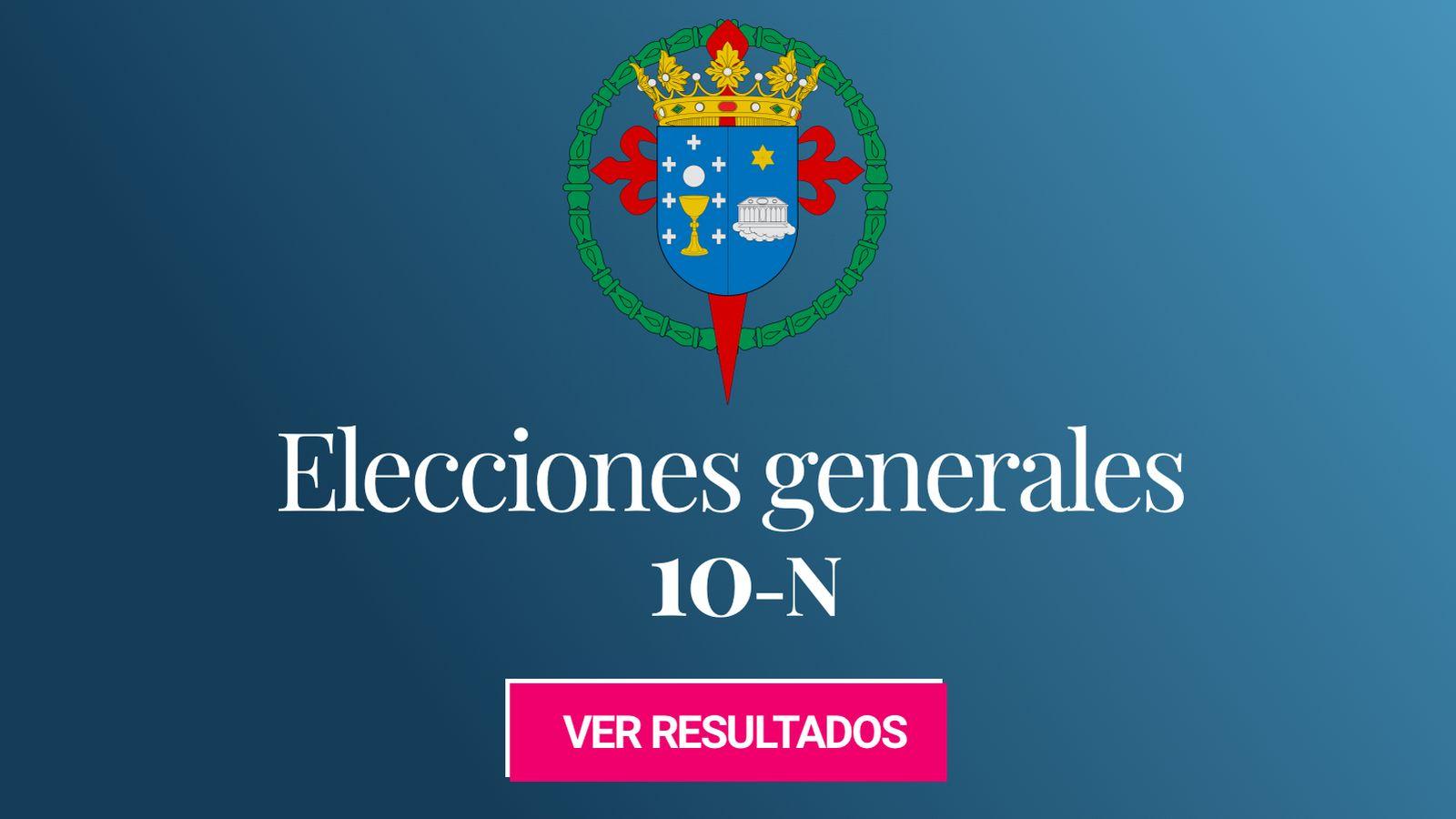 Foto: Elecciones generales 2019 en Santiago de Compostela. (C.C./EC)