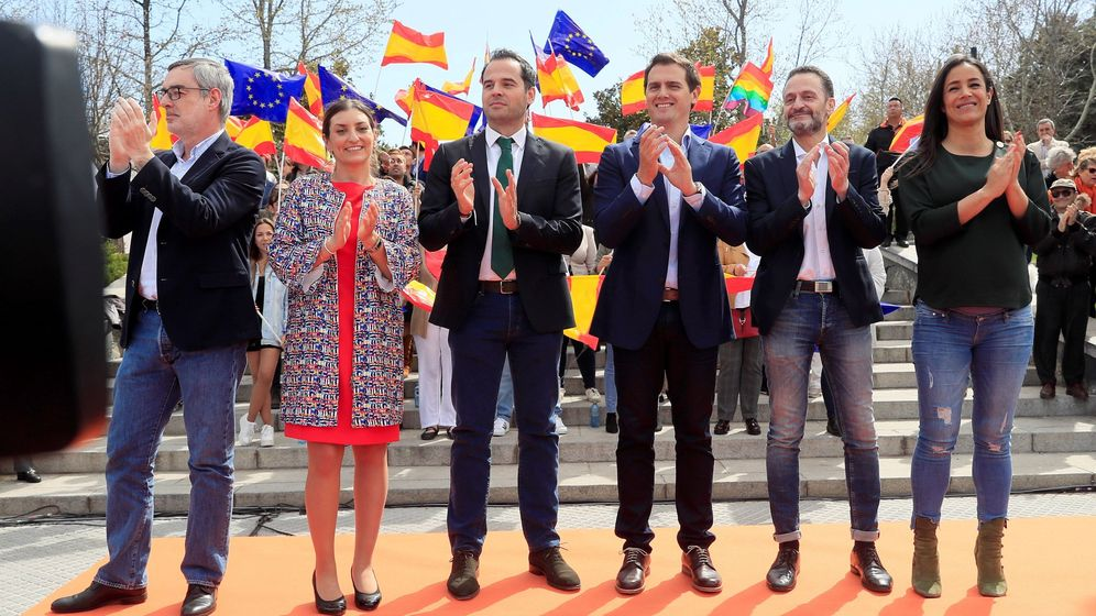 Foto: Acto de Ciudadanos (Efe)