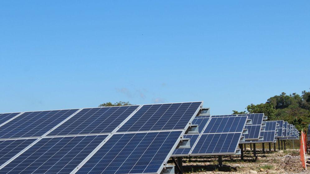 Foto: Planta fotovoltaica.