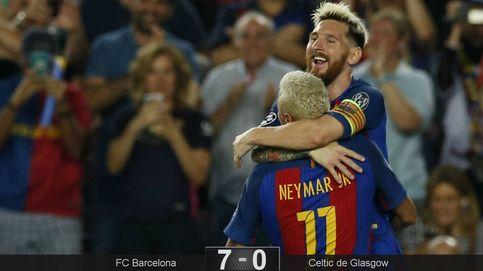 Los titulares del Barcelona le sacan una galaxia de distancia al Celtic de Glasgow