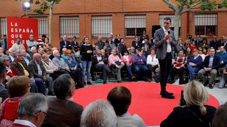 Sánchez descarta la Virgen de Guadalupe y se marcha a afianzar votos de los mayores