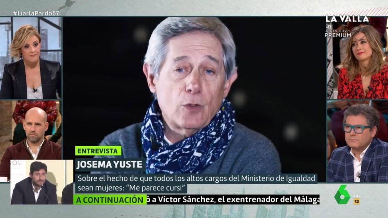 Josema Yuste, en 'Liarla Pardo': Ni feminista ni machista. Soy persona
