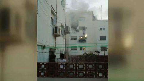 Los vecinos del incendio de Hospitalet de Llobregat vivieron minutos de angustia