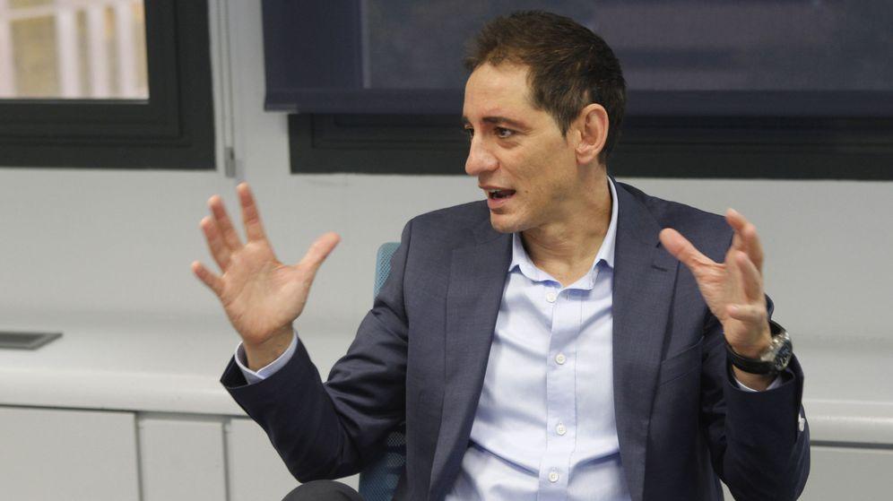 Foto: David Cabello, presidente de la Federación Española de Bádminton (FESBA). (EFE)