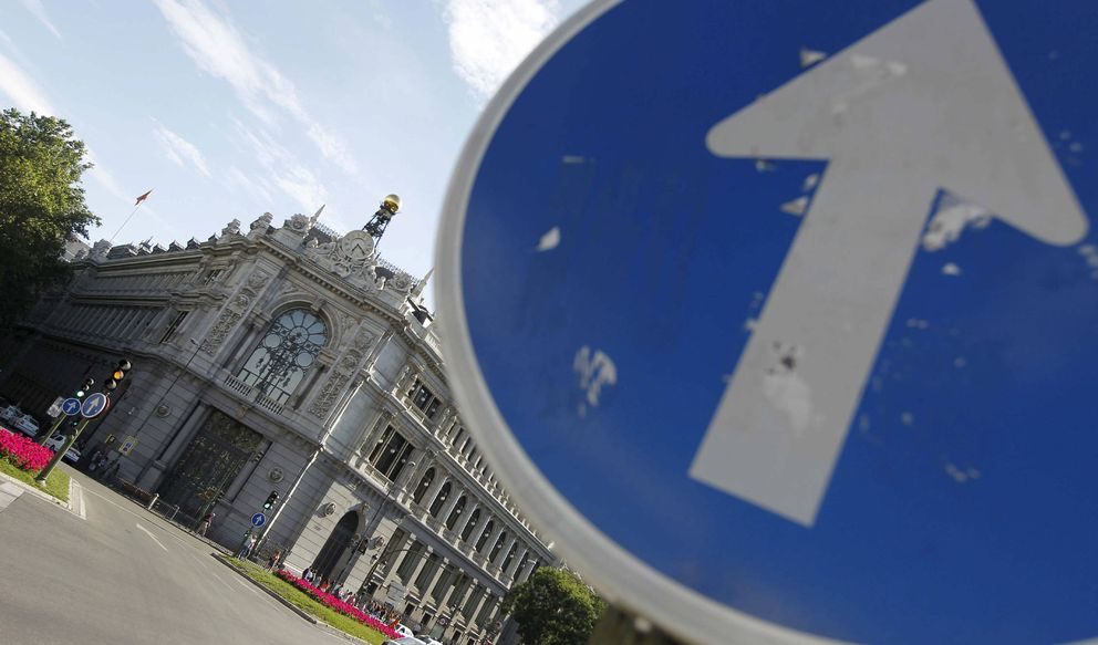 Sede del Banco de España en la plaza de Cibeles, en Madrid. (EFE)