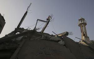 Una existencia envuelta en llamas: vivir bajo los bombardeos en Gaza