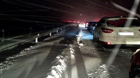 La Fiscalía investigará las responsabilidades por el caos de la nevada en la AP-6