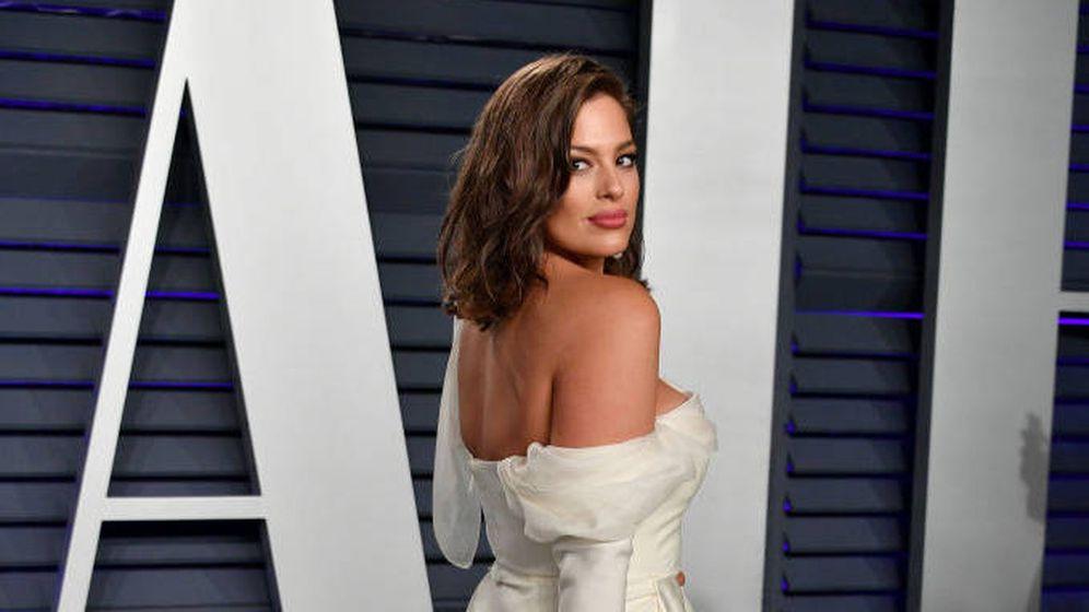 Foto: Ashley en la alfombra roja de la fiesta post-Oscar. (Getty)