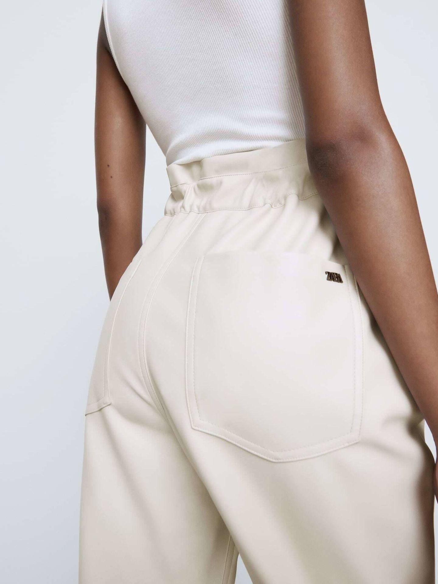El pantalón de Zara. (Cortesía)