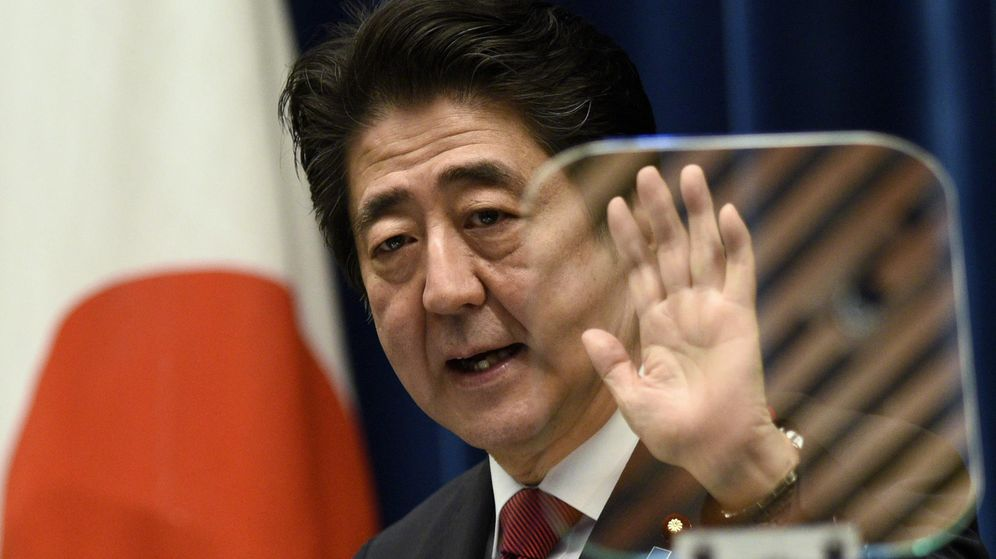 Foto: El primer ministro japonés, Shinzo Abe. (EFE)