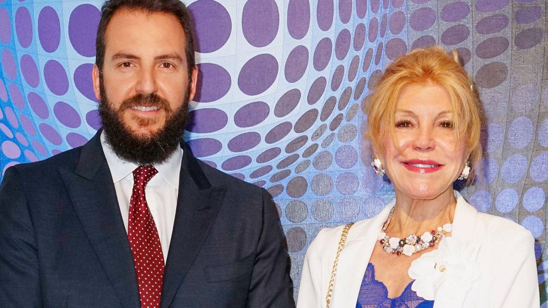 Borja y Carmen Thyssen. (Getty)