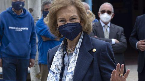 La reina Sofía llega a Palma de Mallorca para pasar sus vacaciones