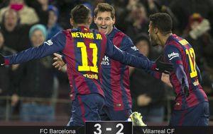 El Barça se enrabieta y remonta, un arte que ya domina con soltura