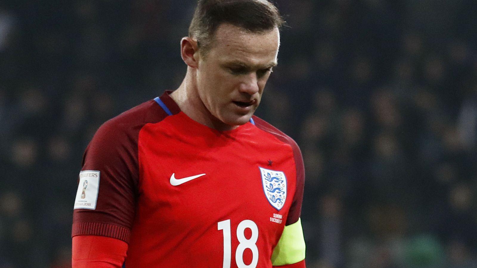 Foto: Wayne Rooney ha perdido su sitio en el once de Inglaterra (Reuters)