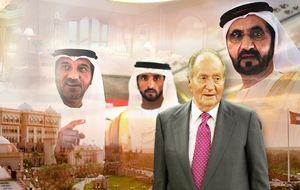 Don Juan Carlos, a cuerpo de rey en su viaje oficial a Emiratos Árabes