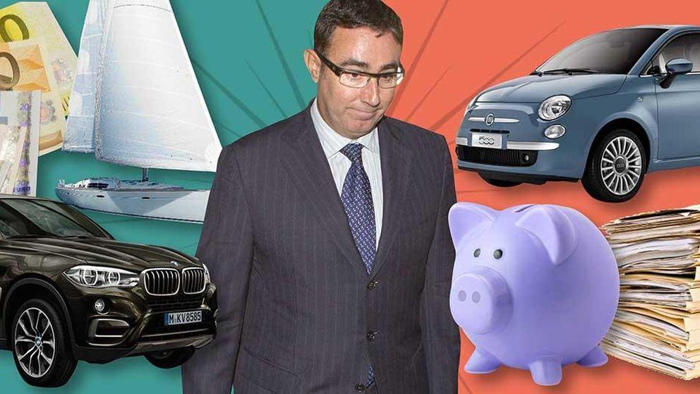 De un BMW a un Fiat 500: así es la nueva vida 'low cost' de Torres