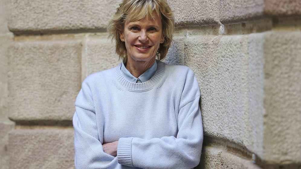 Foto: La escritora estadounidense Siri Hustved en Barcelona. 8EFE)