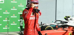 Post de El harakiri de Vettel delante de los 'tifosi' de Ferrari y la consagración de Leclerc