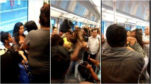 Brutal agresión en el Metro por no ceder el asiento a una madre con su hija