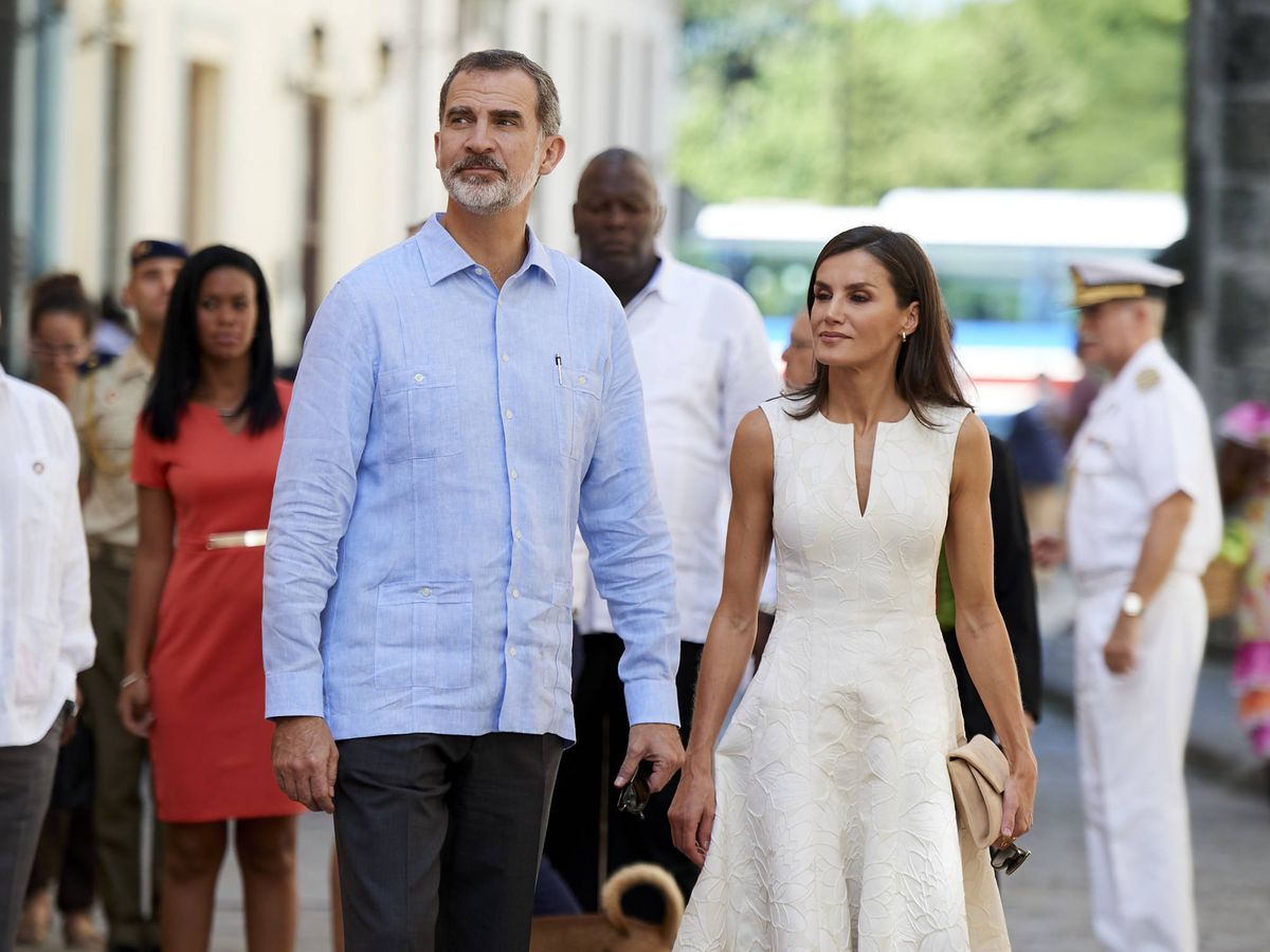 Foto: Los Reyes en La Habana. (Getty)