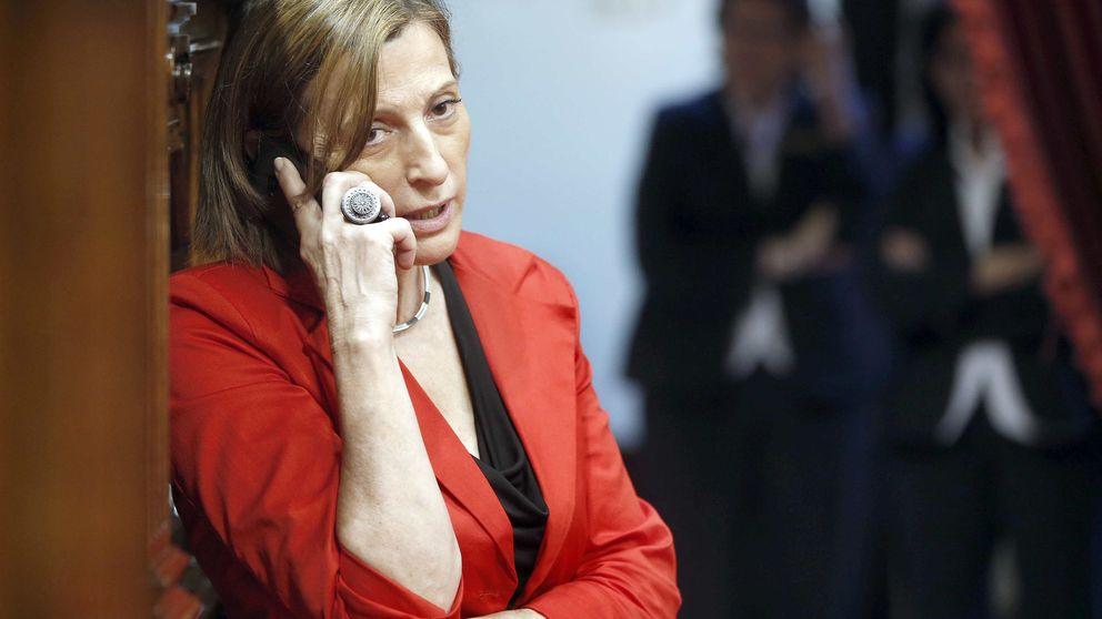 El Gobierno pone el punto de mira en la presidenta del Parlamento catalán