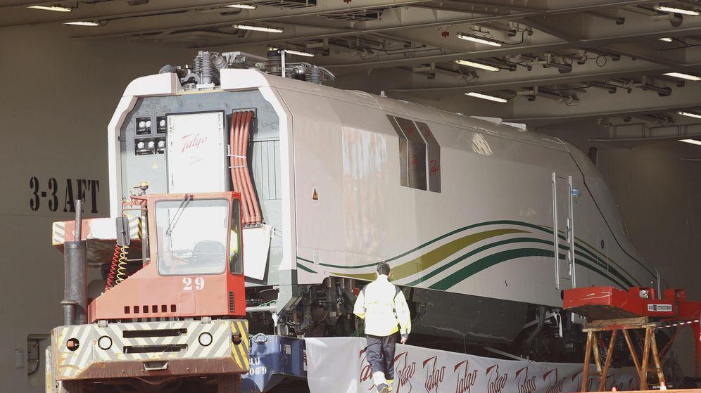 Foto: AVE Talgo fabricado para Arabia Saudí. (EFE)