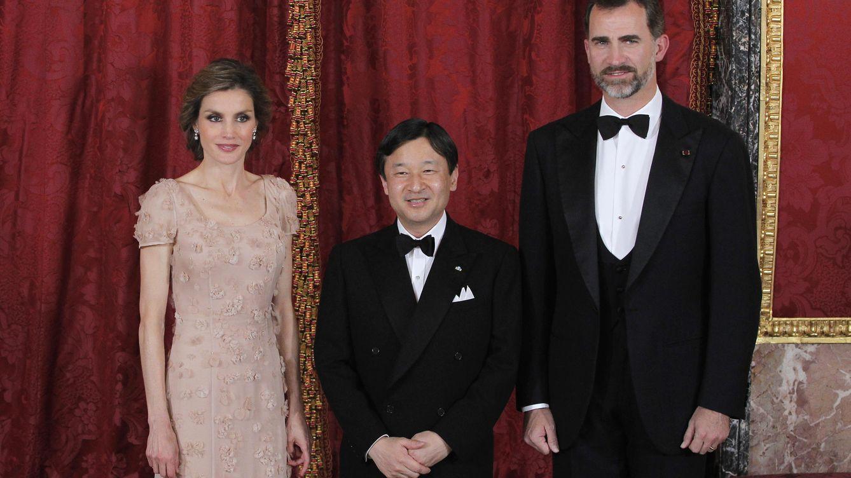 Foto: Los Reyes con el príncipe heredero de Japón (Gtres)