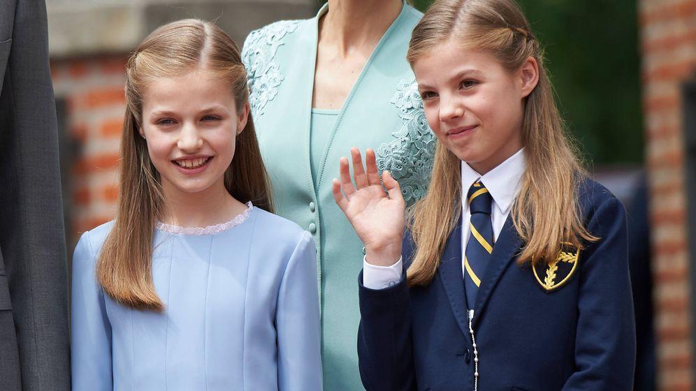 Foto: La princesa de Asturias y la infanta Sofía. (Limited Pictures)