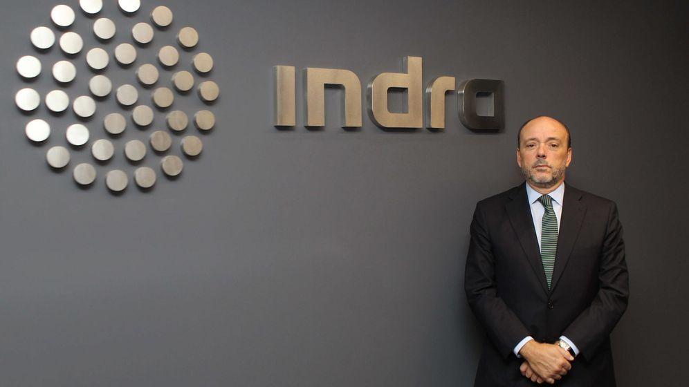 Foto: El presidente de la multinacional de Indra, Javier Monzón (EFE)