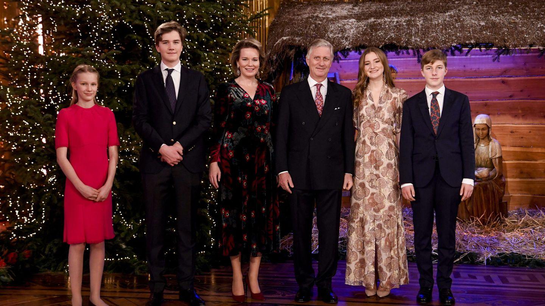 La familia real de Bélgica. (EFE)
