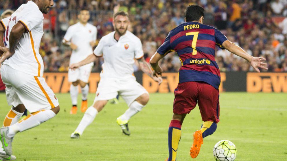 Pedro se despide del Camp Nou como suplente y sin demasiado cariño