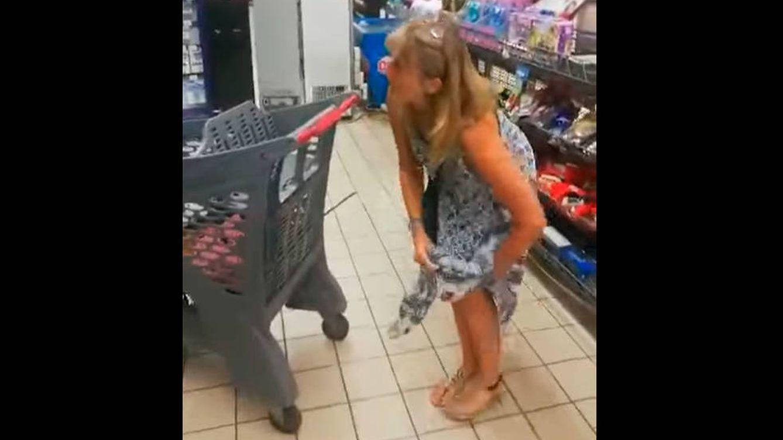 El vídeo viral de la mujer que fue al súper sin mascarilla y le pidieron que se colocara una
