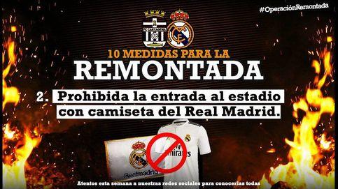 La polémica broma del Cartagena a los aficionados del Real Madrid