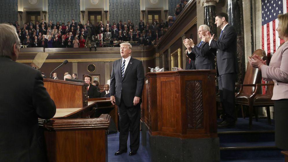 Foto: El presidente de Estados Unidos, ante el Congreso. (REUTERS)